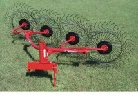 BH Lift Wheel Rake
